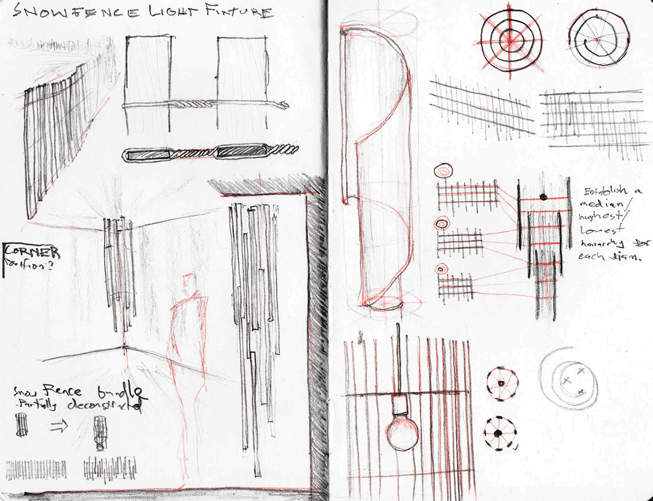snow fence sketches 1